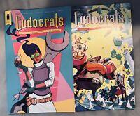 Ludocrats #1 (Of 5) CVRS A & B First Prints Stokely McKelvie Image Comics 🔥💥