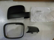 GENUINE & NEW VW TRANSPORTER WING MIRROR COVER CAP SET LEFT SIDE 2003 - 2009