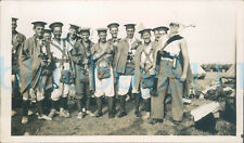 More details for 1930s london rifle brigade soldier dress up academics 5x3