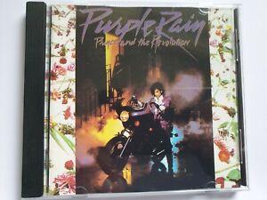 PRINCE - PURPLE RAIN CD 1984 FREE POSTAGE