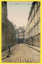 Belle Carte Postale Ancienne PARIS vers 1900 Rue de BRETONVILLIERS Ile St Louis