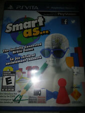 PS Vita Smart As... Game |BRAND NEW FACTORY SEALED Playstation PSV
