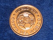 WORLD CUP COIN - 1990 - CAMEROON ITALY.