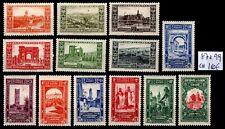 ALGÉRIE : Série Touristique 87 à 99, Neufs * = Cote 184 € / Lot Timbres COLONIES