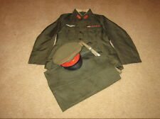 WW2 Imperial Japanese Army Pilot M98 Service Uniform Grouping - FIRST LIEUTENANT