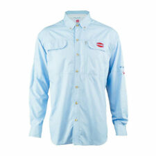 Penn Long Sleeve Performance Fishing Shirt XX LARGE Mens Blue PolyLSVPENSDBLUXXL