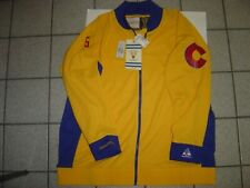 NEW  MITCHELL & NESS VINTAGE COLORADO HOCKEY ZIP TRACK JACKET SIZE 56 $225