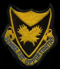 USAF 106th Tactical Reconnaissance Squadron Night Photographic Patch N-8