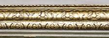 N° 240   Cadre doré  Art déco début XXème siècle pour chassis  101 x 86 cm