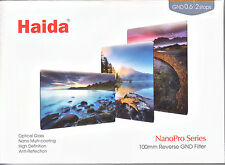 Haida NanoPro 100mm 150mm MC Reverse Grad ND 0.6 2 Stop Optical Glass Filte