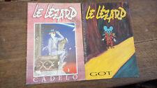 lot de 2 revues Le lézard n° 7 juillet 1997 + n° 1 novembre 1989