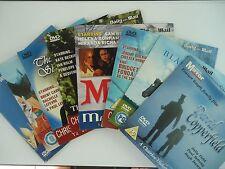 9 Christmas Magic & Fantasy promo dvds David Copperfield +