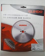HM Précision Lame de scie circulaire de GUHDO 225 x 2,8 x 30 mm, pour 68 W NEUF