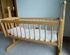 Cradle/crib for Baby Wooden rocking