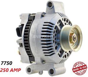 250 AMP 7750 Alternator Ford Mazda Mercury High Output Performance HD NEW USA