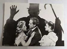 DOCTEUR JEKYLL AND MISTER HYDE - S TRACY - BERGMAN - PHOTO 13x18 CINÉ PRESSE