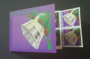 1998 SWITZERLAND ZWITSERLAND BOOKLET CHRISTMAS BIRD PRO JUVENTUTE 1998 VF MNH
