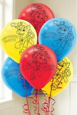 12 Paw Patrol Birthday Balloons Party Supply Bag Fillers Favors Prize Decoration
