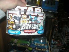 STAR WARS GALACTIC HEROES SERIES COMMANDER BLY AND AAYLA SECURA. UNOPENED.
