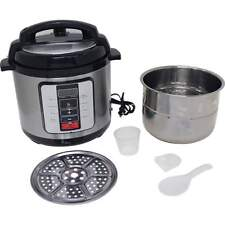 Precise Heat™ 6.3Qt. Electric Pressure Cooker –Stainless Steel Inner Pot