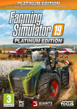Farming Simulator 19 Platinum Edition PC CD ~ BRAND NEW SEALED ~ lcd