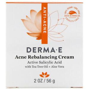 DERMA E - Acne Rebalancing Cream - 2 oz. (56 g)