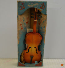 Vintage Jefferson Musical Instrument - TOY WOOD VIOLIN - 1960s TMA Rare