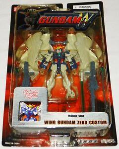 "Bandai Mobile Suit Gundam Wing Endless Waltz ZERO CUSTOM 4.5"" Figure *MOC* MSIA"