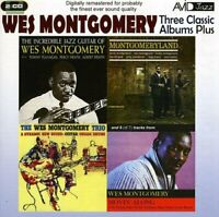 Wes Montgomery - Three Classic Albums Plus [The Wes Montgomery Trio / [CD]