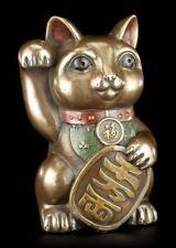 Winkende Glücks Katzen Figur - Maneki-Neko - Geschenk Glücksbringer Chinesisch