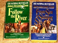 FROM THE SHINING SEA & FOLLOW THE RIVER BY JAMES ALEXANDER THOM PB'S