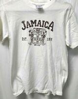 Vintage Mens Jamaica White T Shirt Small