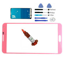 Pink front glass lens screen Galaxy Note 3 N9000 replacement LCD Digitizer Kit