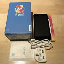NEW CONDITION MOTOROLA MOTO C XT1754 8GB BLACK UNLOCKED SMARTPHONE WITH WARRANTY
