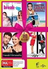 The Ugly Truth / The Break-Up / Forgetting Sarah Marshall / Friends With Benefits (DVD, 2014, 4-Disc Set)
