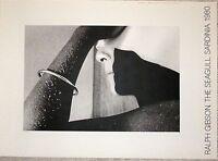 Ralph Gibson affiche The Seagull Sardinia 1980 New York femme nue photo