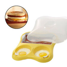 Progressive Microwave Eggs & Bacon Breakfast Sandwich Maker Meat Sausage Pan