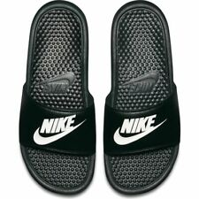 Nike Benassi Just Do It Sandal for Men, Size EU 11 - Black/White