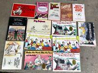 LOT OF 14 vintage HUMOR CARTOON COMIC STRIP paperback books