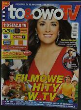 SALMA HAYEK mag.FRONT cover 2012 James Bond 007 Pierce Brosnan, Rowan Atkinson