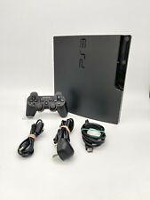 Sony PlayStation 3 Slim 160GB Charcoal Black Console (CECH-3003A) 4.76FW