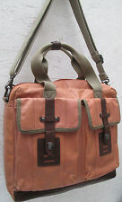 -AUTHENTIQUE grand sac besace voyage FOSSIL en TBEG vintage bag
