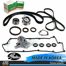 Gates Timing Belt Kit V-Belt Water Pump Valve Cover Gaskets for Hyundai Kia 2.0L