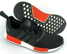 Adidas NMD R1 Black Red BB1969 Men Size 12 New without Box