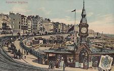 CH76. Vintage Postcard. Aquarium, Brighton, Sussex.