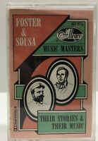 Foster & Sousa Allegro  Music Masters Their Story & Music Cassette Tape ACS 8515
