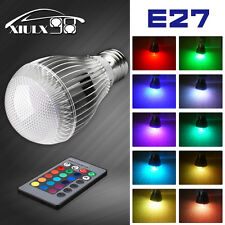 1x E27 9W 16 Colors Changing Magic RGB LED Light Bulb + Wireless Remote Control