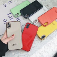 Shockproof Plating Silicone Soft Back Case Cover For iPhone 11 Pro Max XS XR 8 7