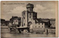 cartolina PISA la cittadella (antico porto pisano)