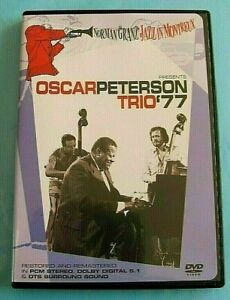 OSCAR PETERSON TRIO '77 DVD Montreux Jazz Festival Region 4 see below